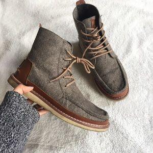 •Toms• Searcher Felt Boots